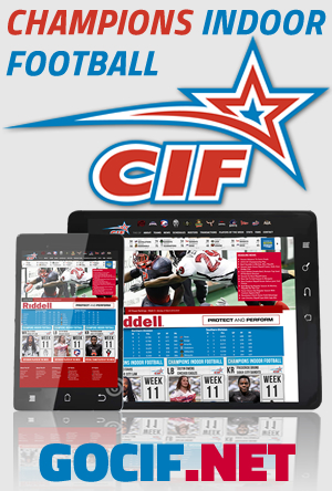Champions Indoor Football-Mobile